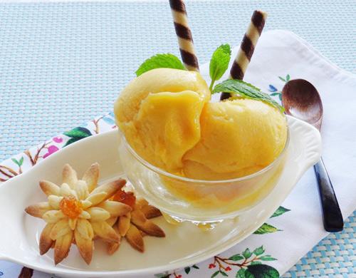 Cách làm kem xoài ngon mát lạnh