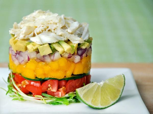 Salad thịt cua tươi mát