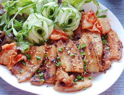 Thịt nướng kiểu Hàn Quốc thơm ngon
