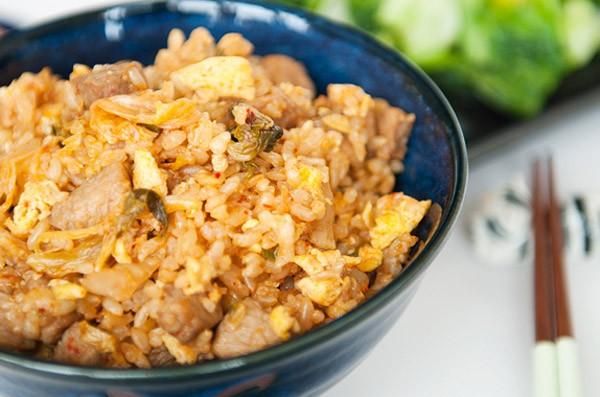 Cơm chiên Kimchi