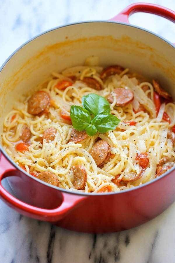 Mì Ý nấu siêu tốc