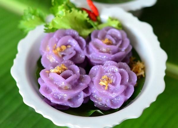Bánh bột lọc bông hoa kiểu Thái