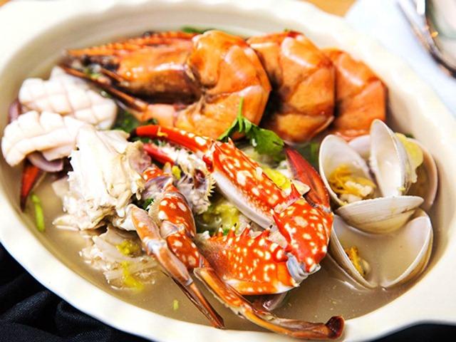 Canh cải thảo hải sản