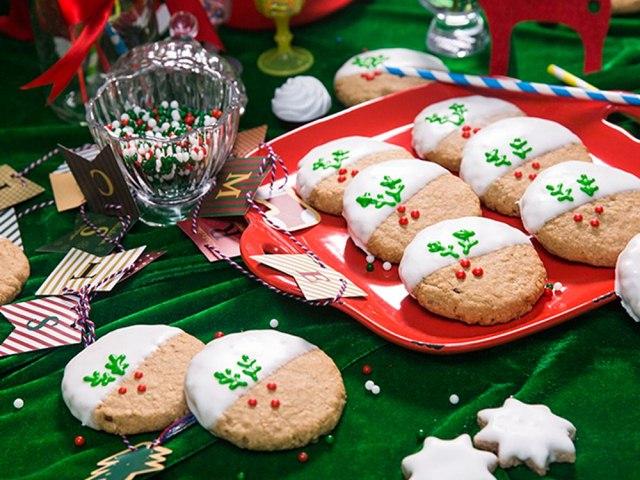 cách làm bánh quy hương quế cho Giáng sinh