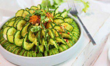 cách làm salad dưa chuột!