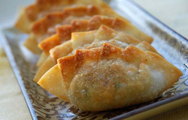 bánh xếp Hàn Quốc