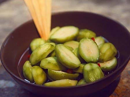 cách làm cóc lắc chua ngọt
